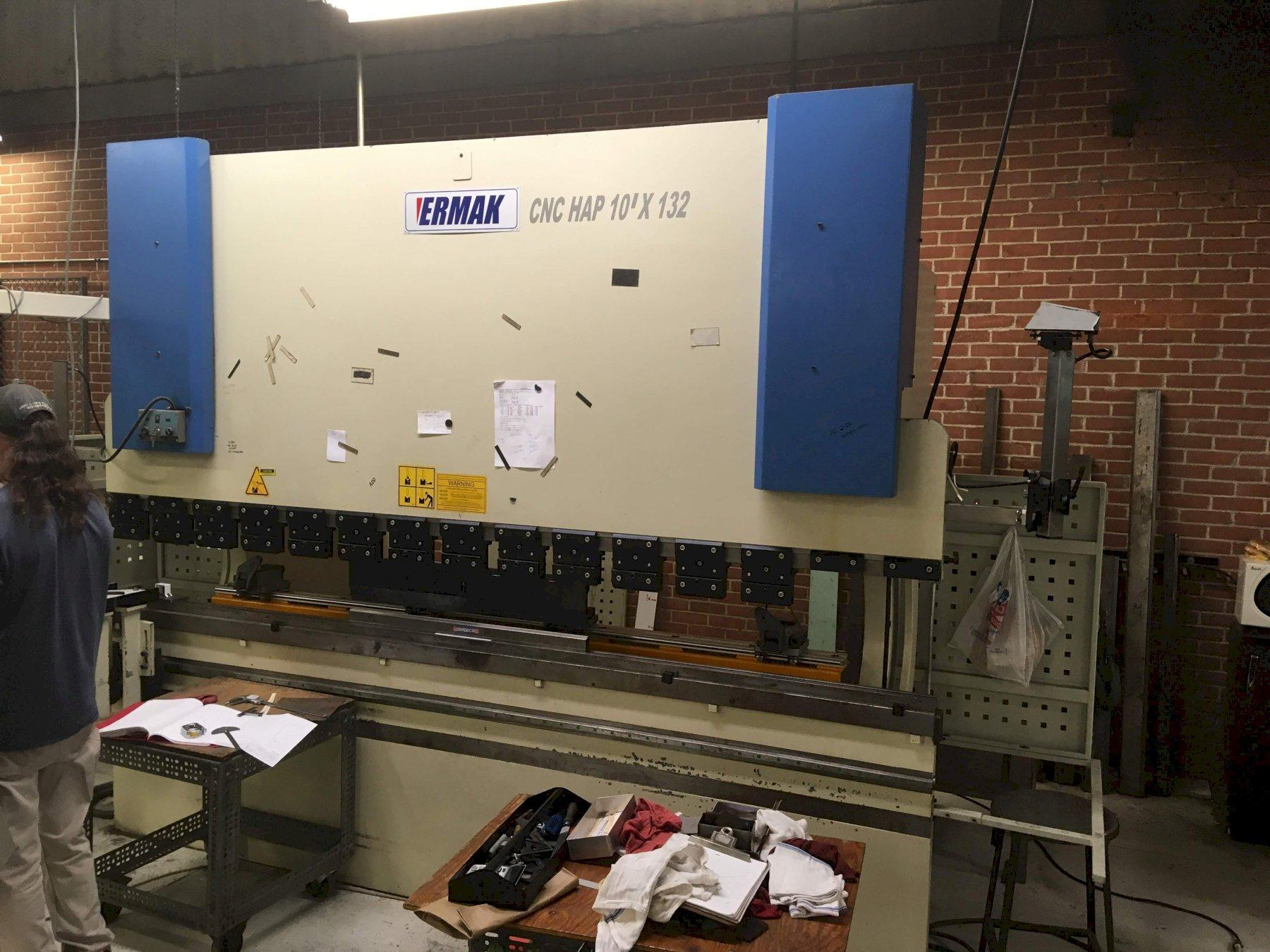 2005 Ermak HAP 10-132, 10' x 132 Ton, Hydraulic Press Brake