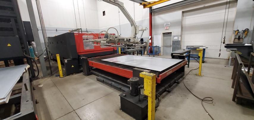 2008 Amada FO4020NT, 6x12, 4000 Watt Co2 Laser