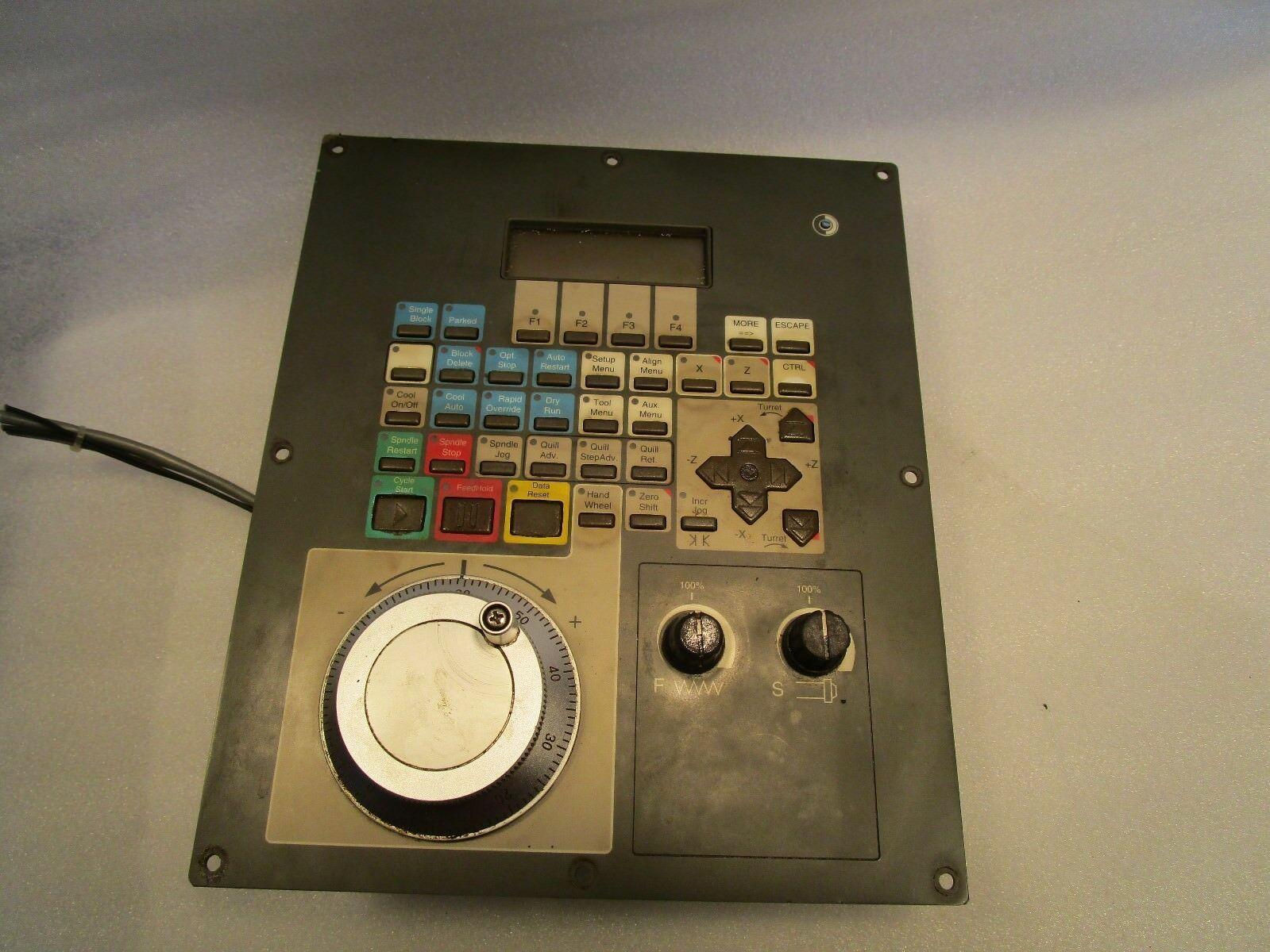 Cincinnati Lathe Operator Interface with MPG 3-424-2185A Rev B