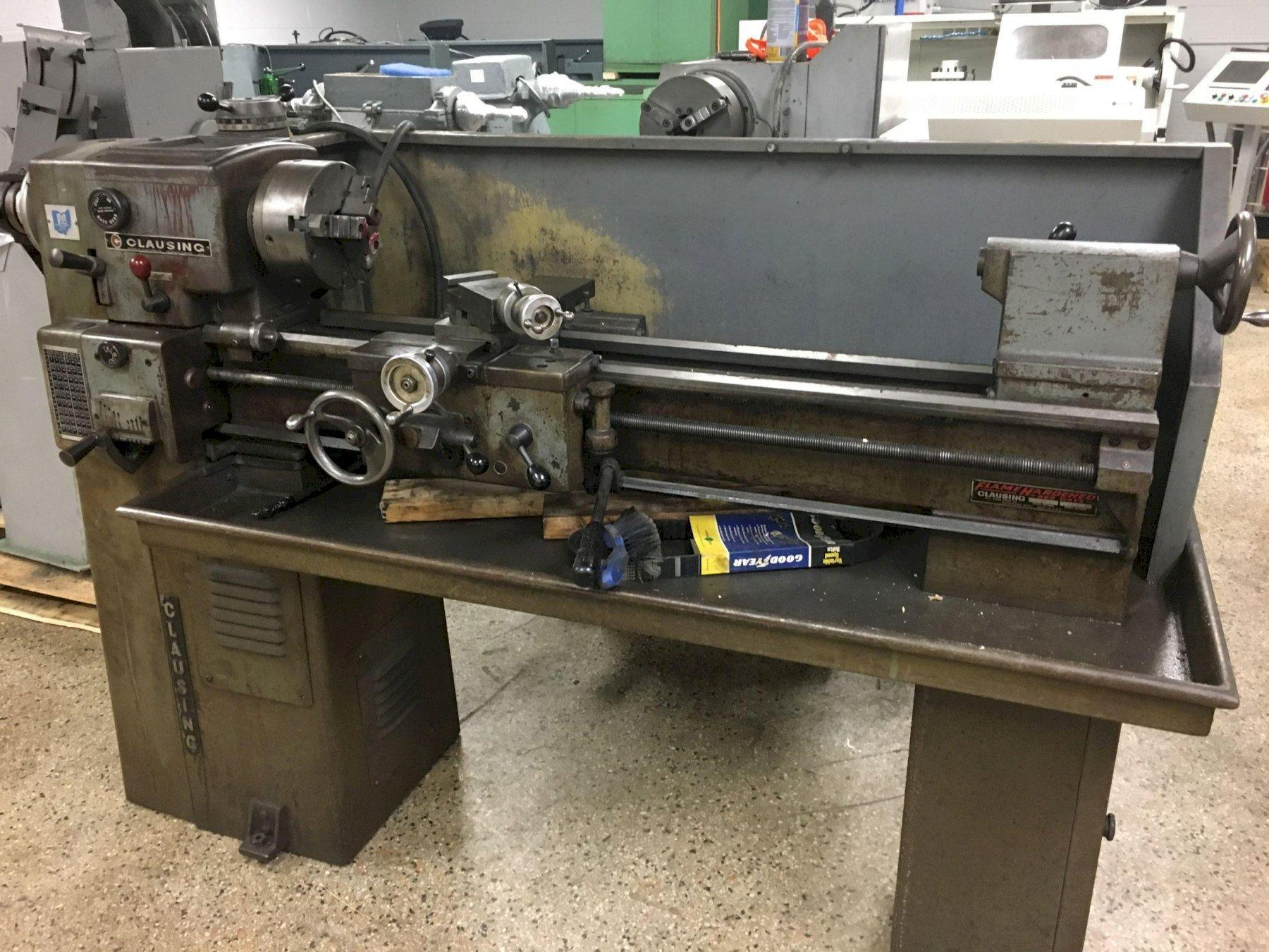 "Clausing-Atlas 12"" x 36"" Variable Speed Lathe, S/N 503678."