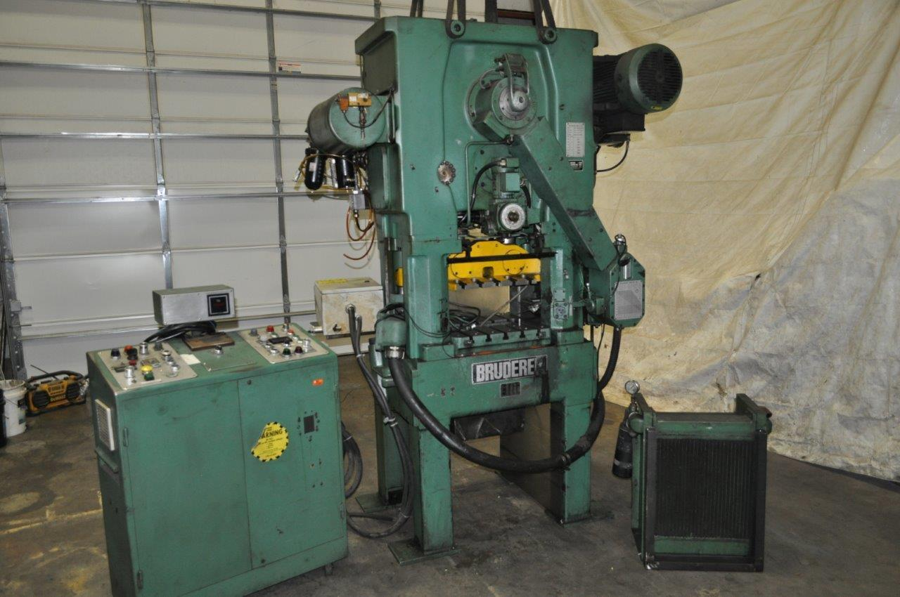 30 Ton Bruderer High Speed Press