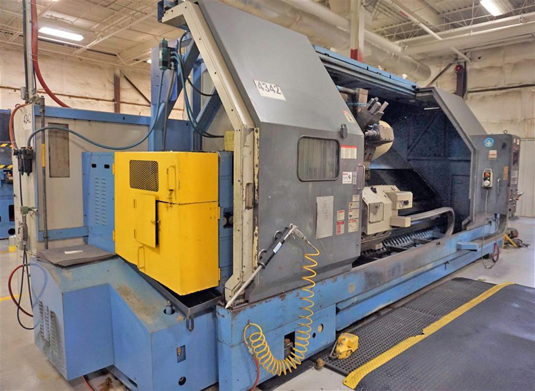 USED, MAZAK SLANT TURN 60NX-3000U CNC LATHE