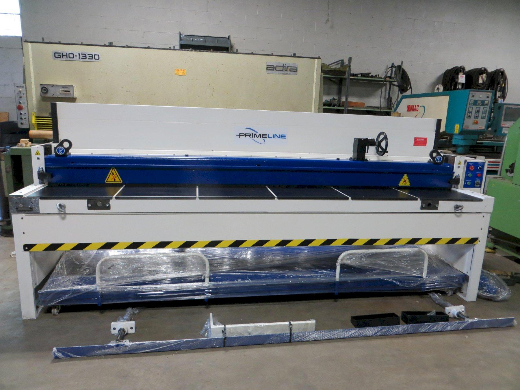 14 Ga x 10 ft Demo Primeline Mechanical Power Shear Model M1014-FRP