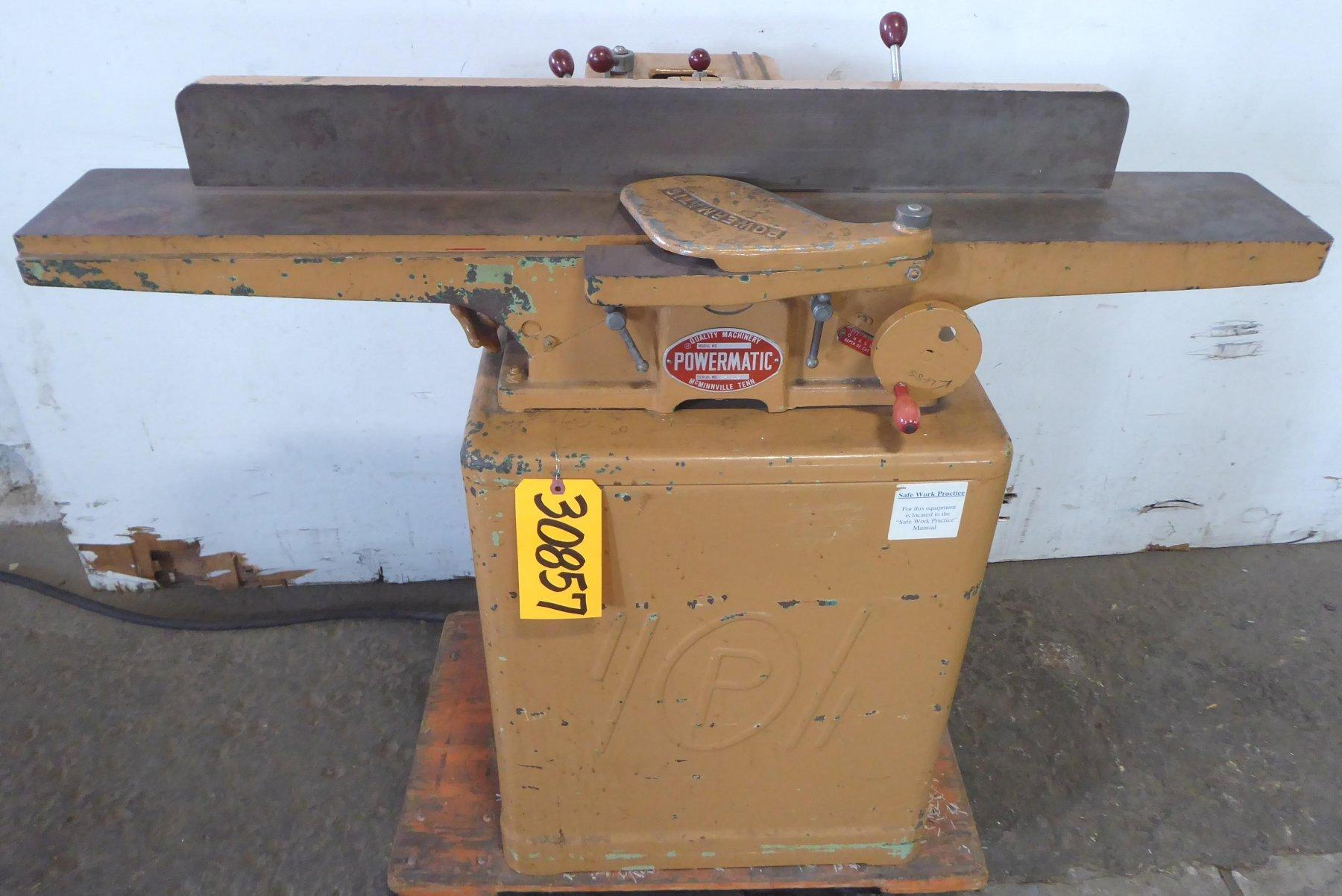 Powermatic 6″ Jointer Model 50