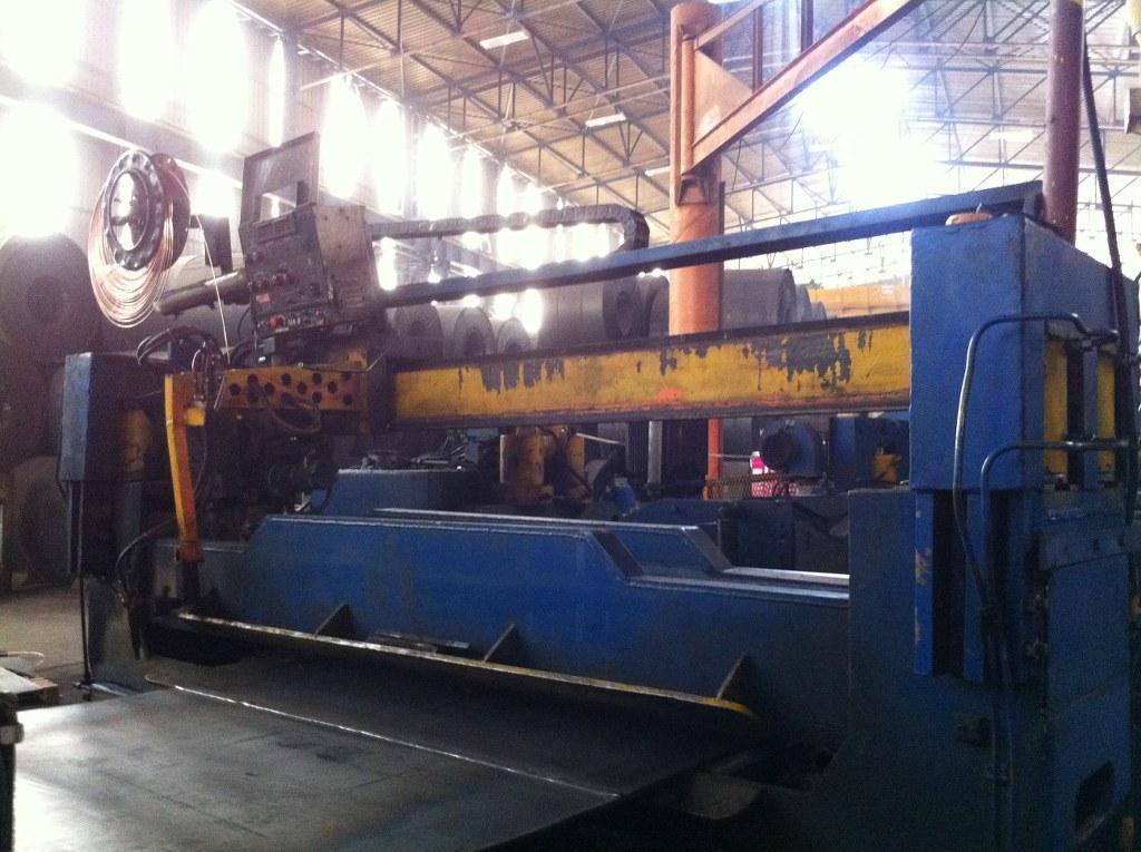 """100"""" x .787"""" (2540mm  x 20mm) Spiral Submerged Arc Welding Line"""