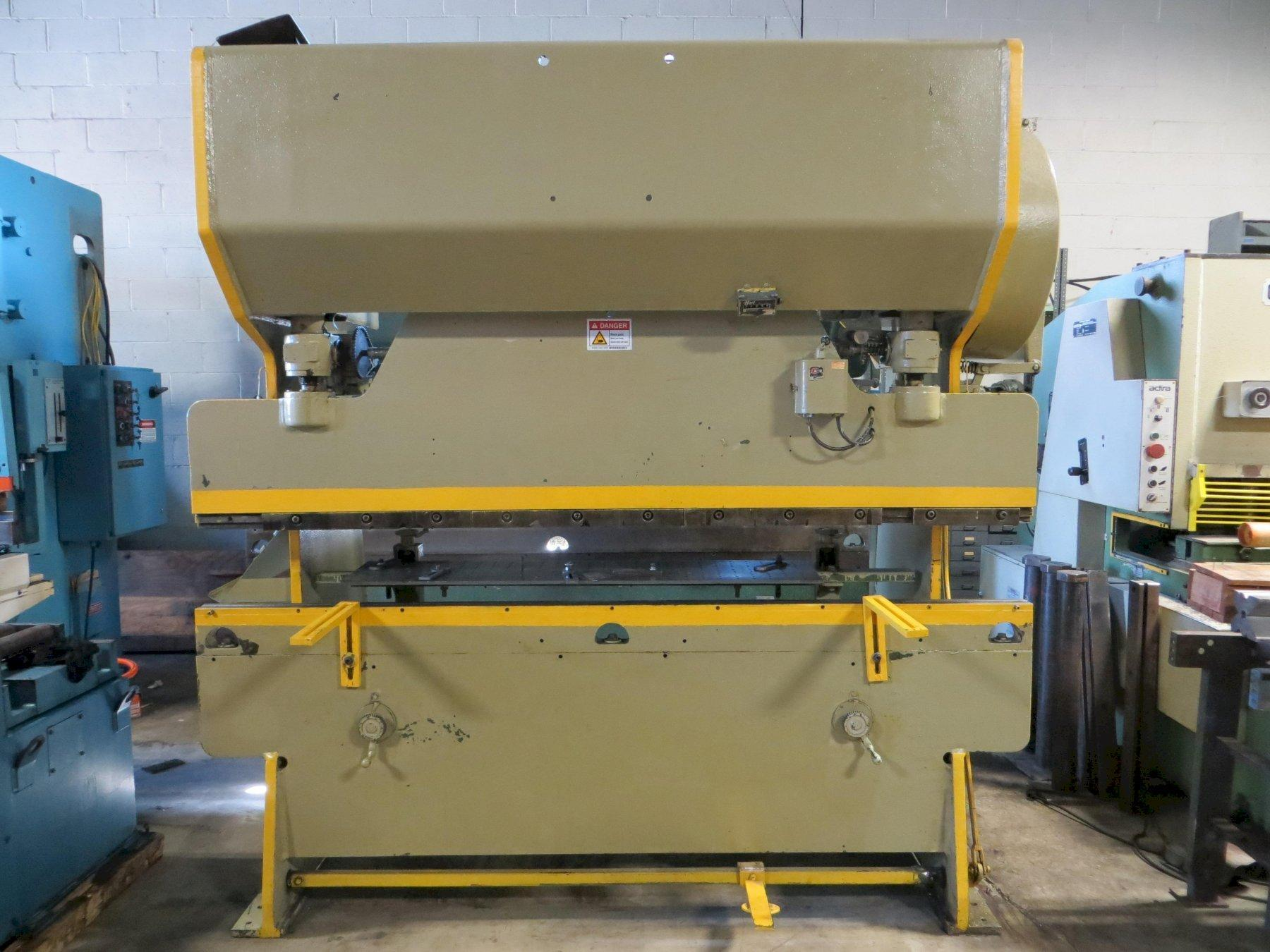 55 Ton x 8 ft Chicago D&K Mechanical Press Brake Model 68-B