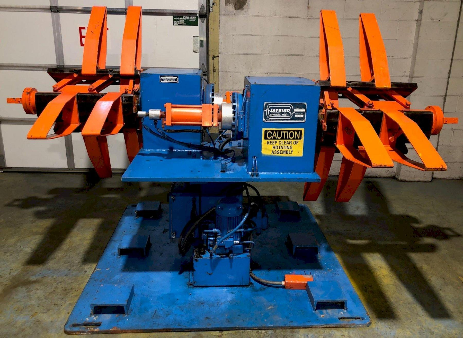 "6,000# x 18"" JAYBIRD DOUBLE ENDED UNCOILER"