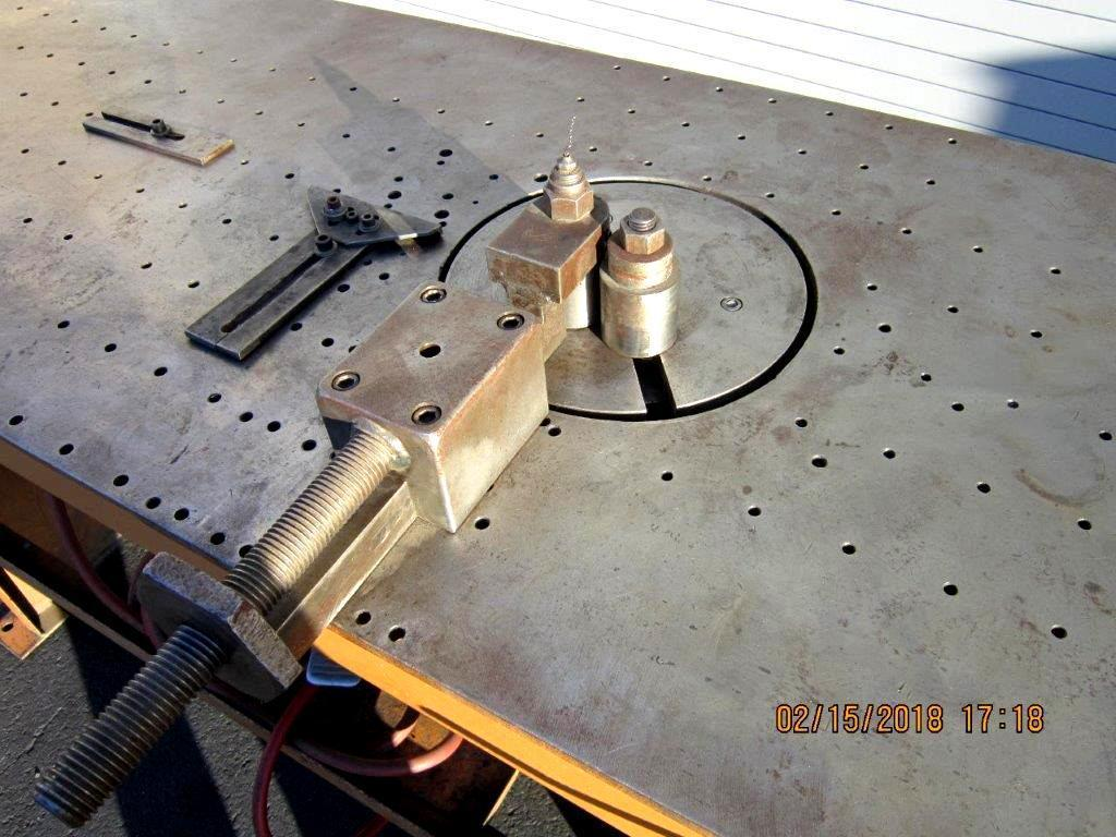 Carbide Industries 2 Stop Table Wire Bender