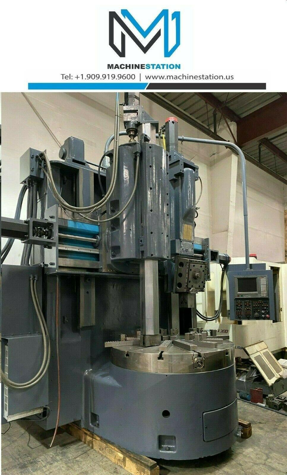 "BULLARD DYNATROL 56"" CNC VERTICAL BORING TURNING CENTER"