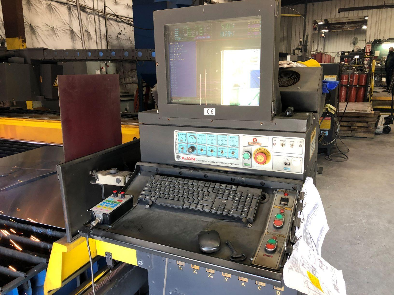 2014 Ajan Plasmasonic 260A 10' x 20' Plasma Cutting Machine