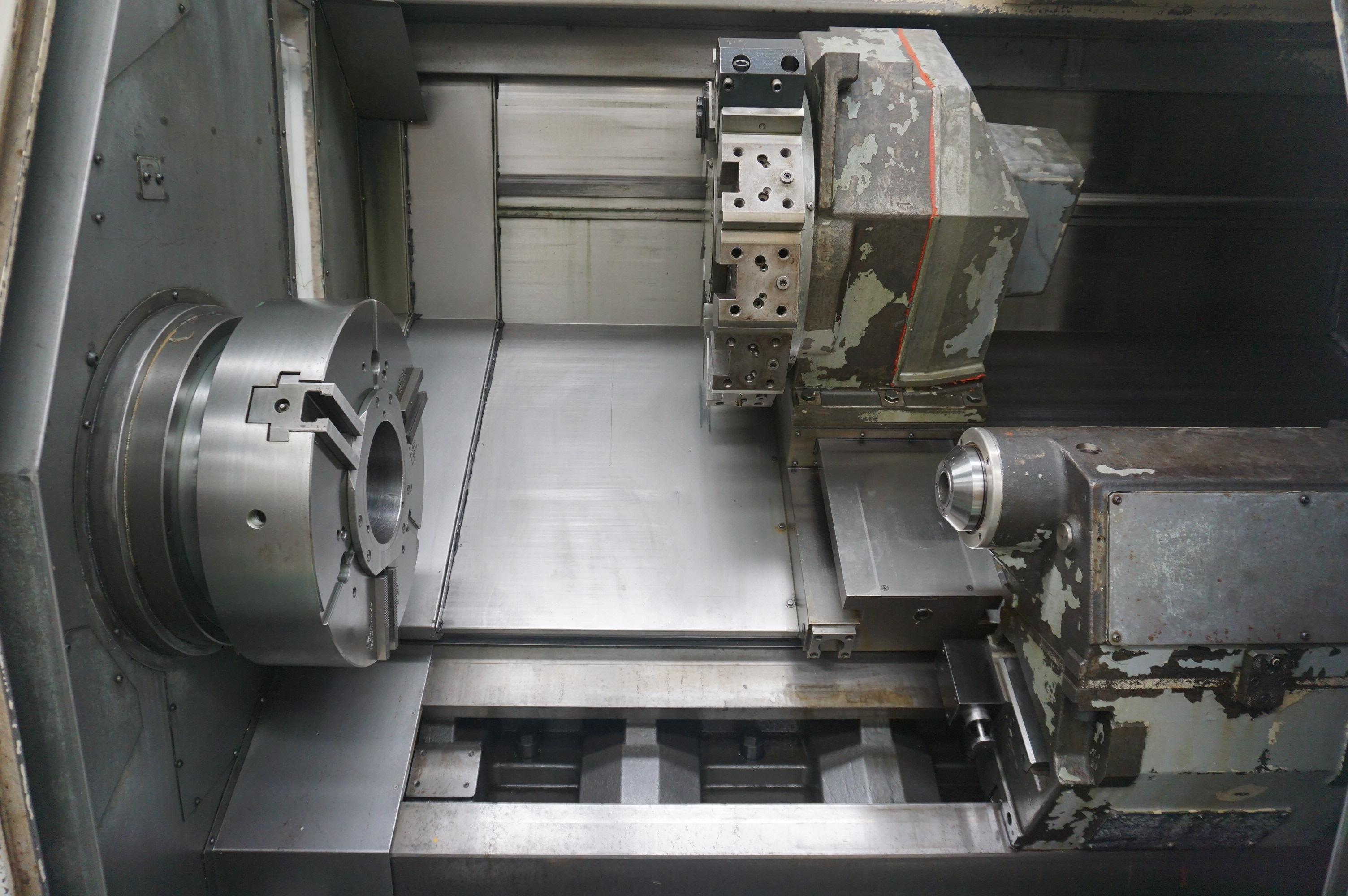 2001 Okuma LB35II 1SC/2000 - CNC Horizontal Lathe