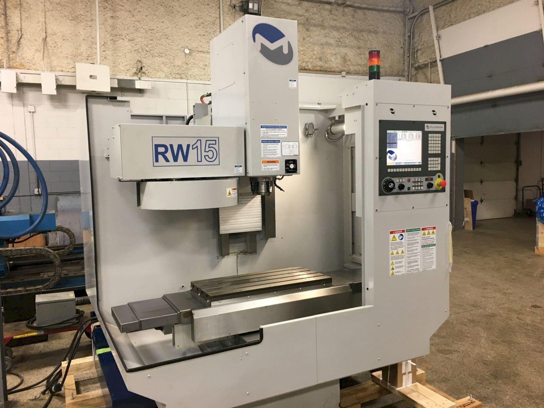 Milltronics Model RW15 CNC Vertical Machining Center, S/N 12318, New 2013.