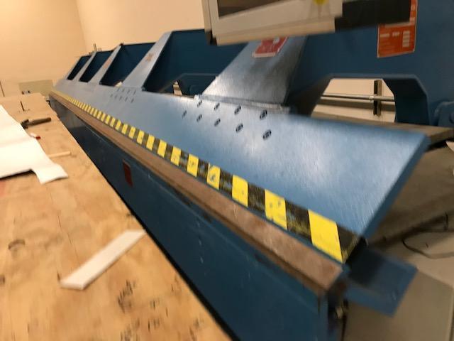 21' X 18 Gage Jorns CNC Metal Folder