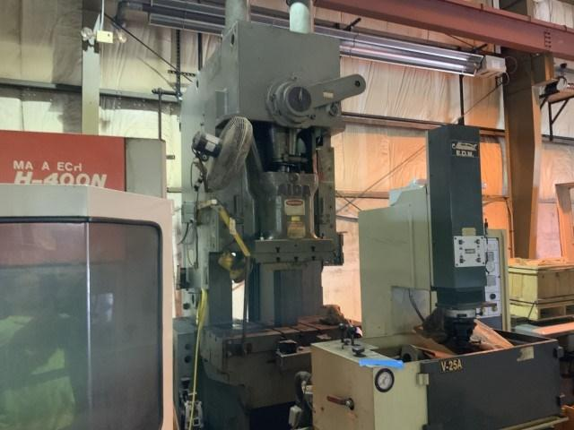 150 TON AIDA MODEL PC-15020 GAP FRAME PRESS: STOCK #11466