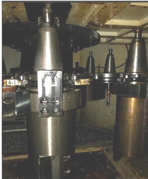 You Ji YV-1200 ATC+C CNC Vertical Lathe