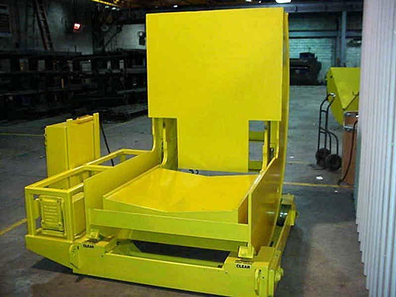 """20,000# x 48"""" Combination Coil Car / Upender"""