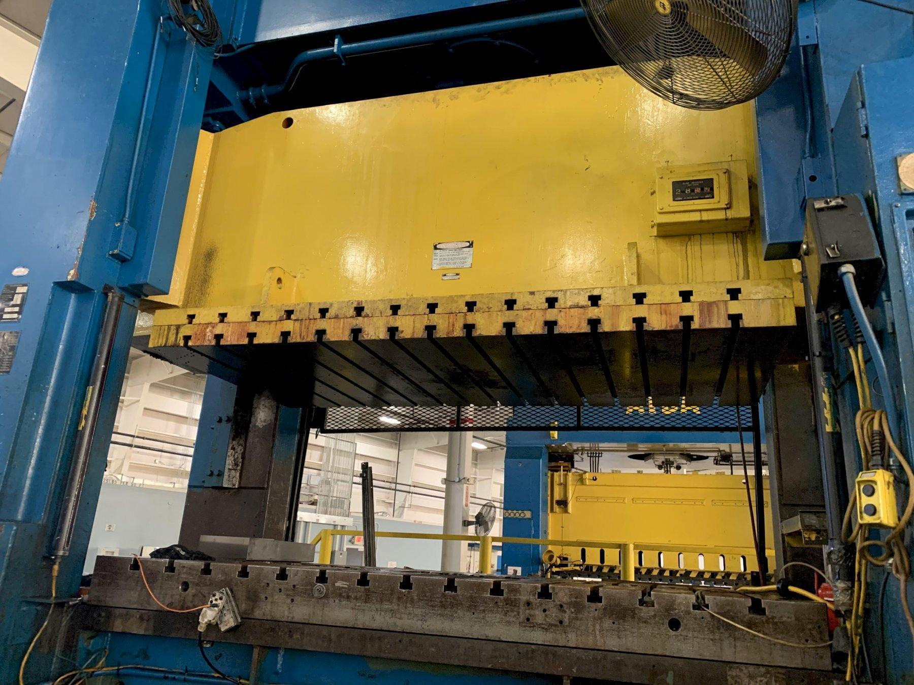 300 ton Komatsu E2P-300 Plunger Guided Straight Side Press