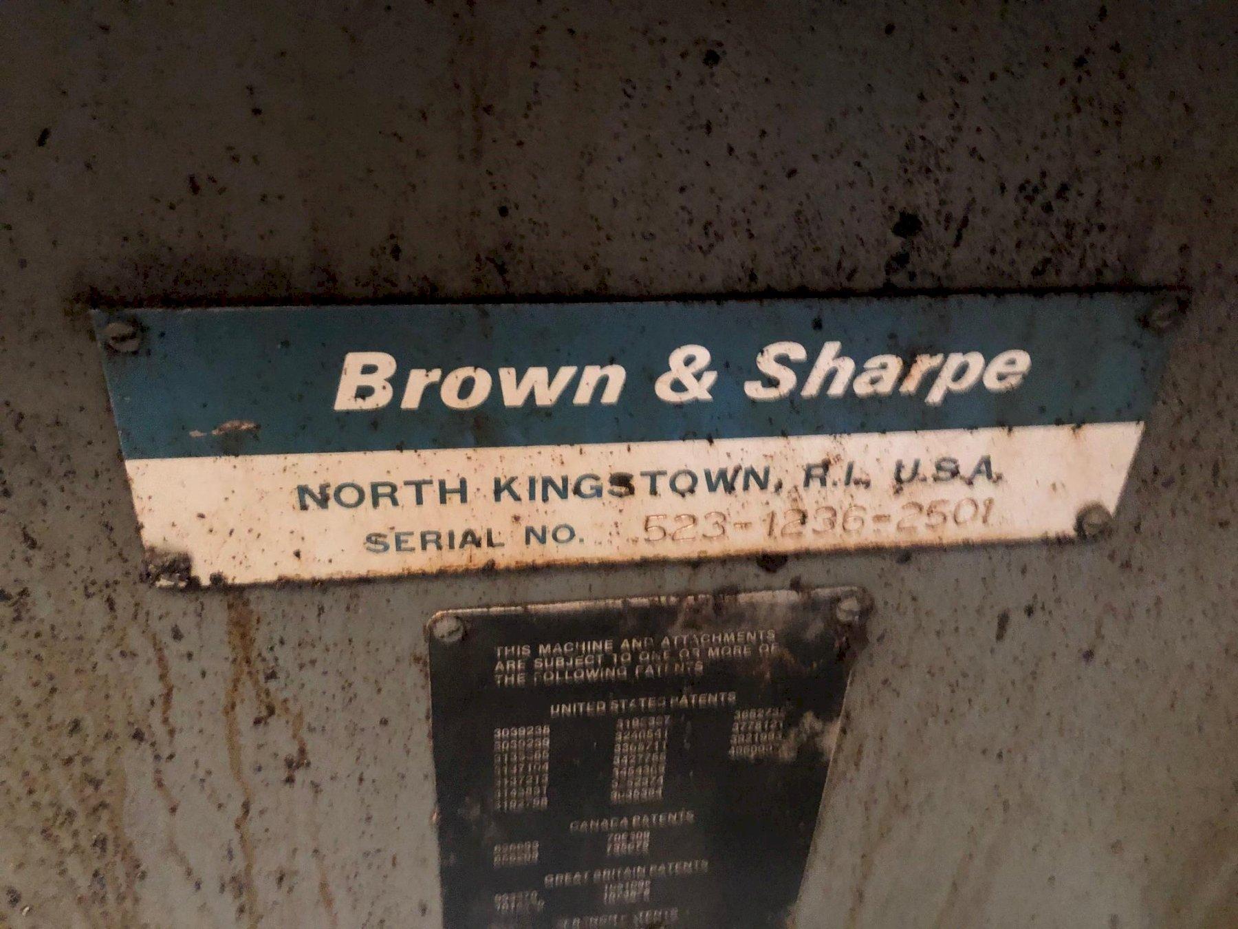 "BROWN & SHARPE 12"" X 36"" MICROMASTER CNC"