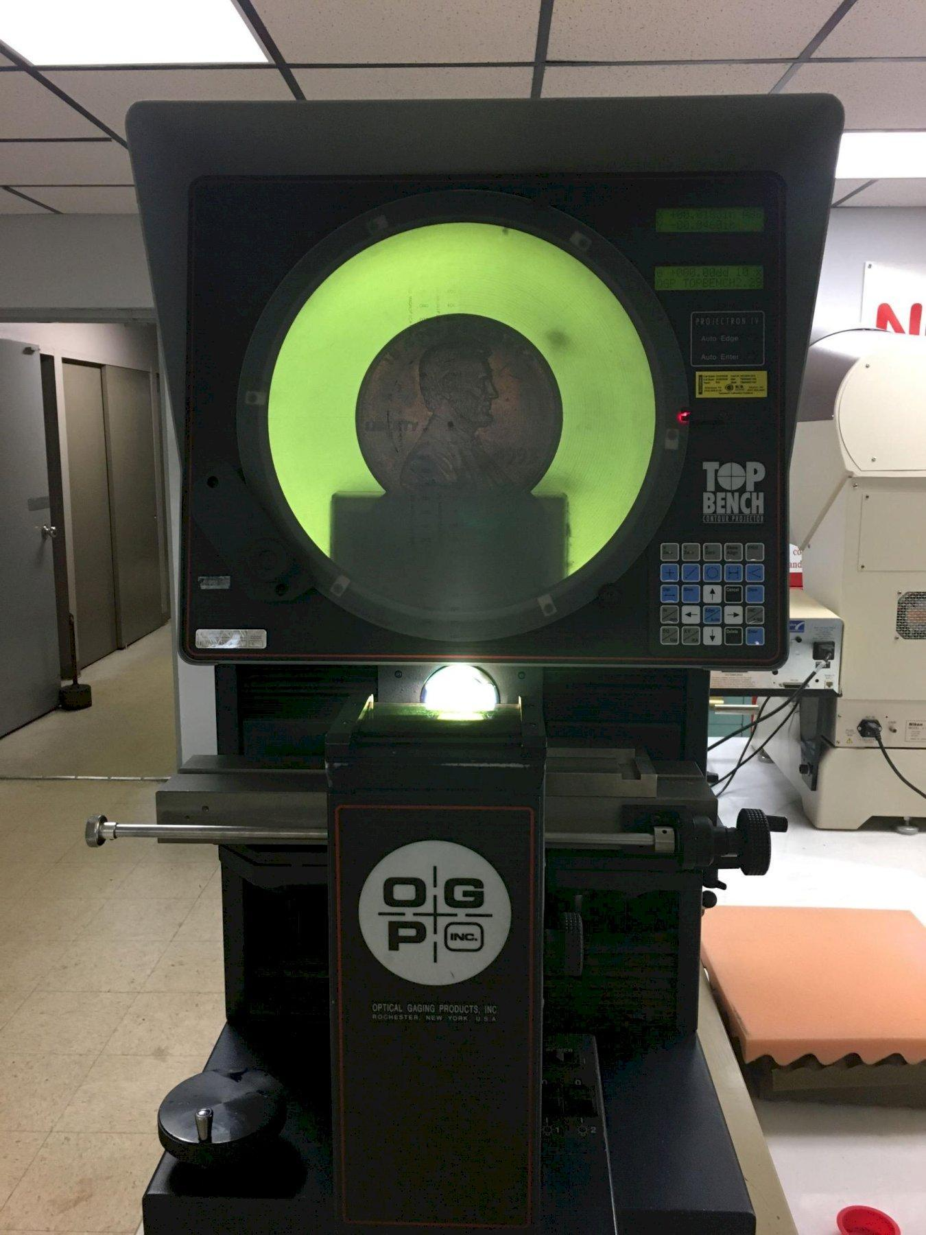 "14"" OGP Model TB14 ""Top Bench"" Optical Comparator, S/N pending. (arrival pending)"