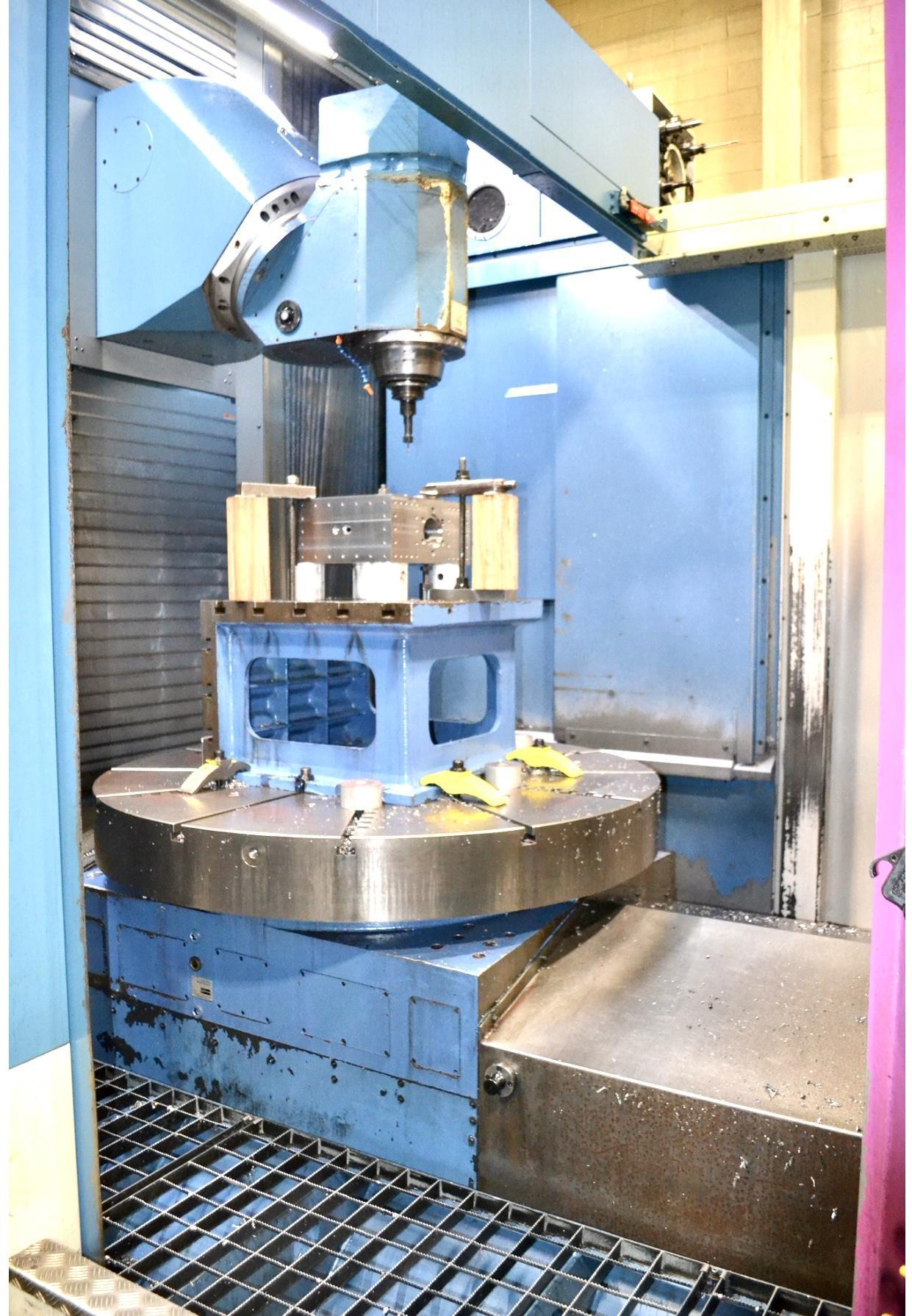 Used Ibarmia Model THC 22 Multiprocess Center with Siemens 840D CNC (Installed new in 2013)