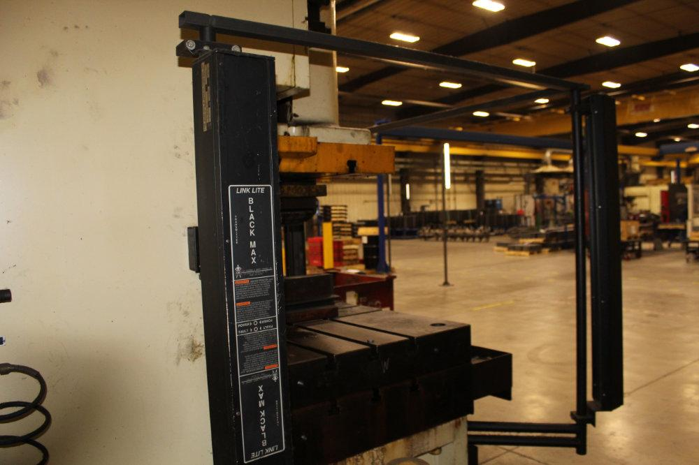 USED STAMTEC G1-260 GAP FRAME MECHANICAL PRESS, 286 Tons, Year 2000, Stock No. 10614