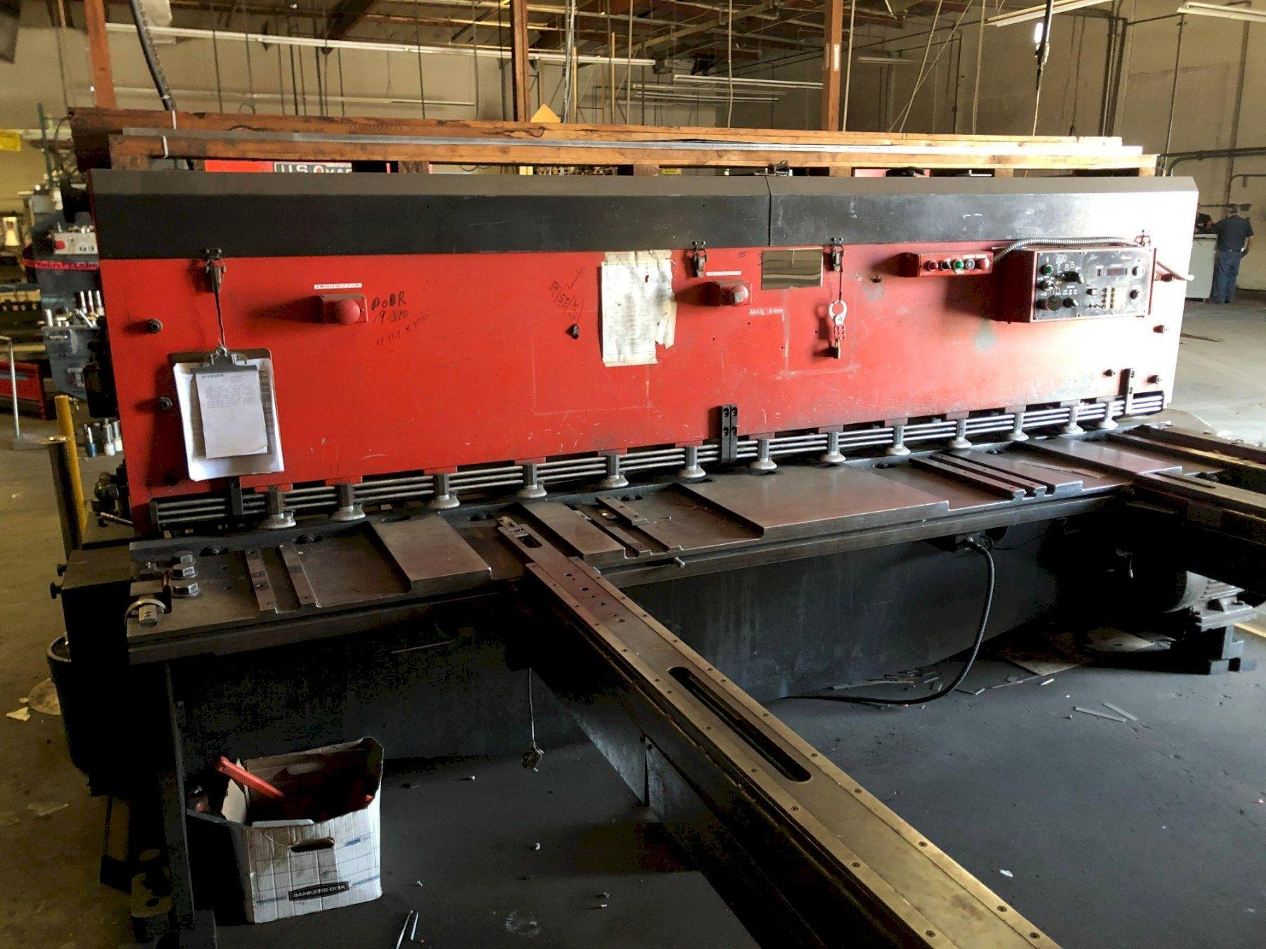 "10' x 1/4"" Amada M-3060 Mechanical Shear"