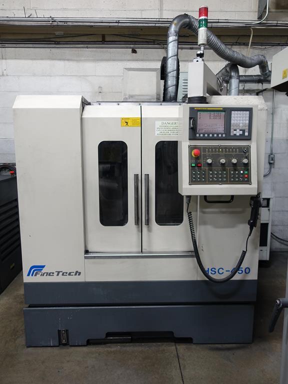 Finetech  HSC-450 Vertical Machining Center Year: 2005/09