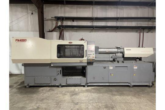 Nissei Used FN4000-36A Injection Molding Machine, 198 US ton, Yr. 2004, 460V, 9.7 oz