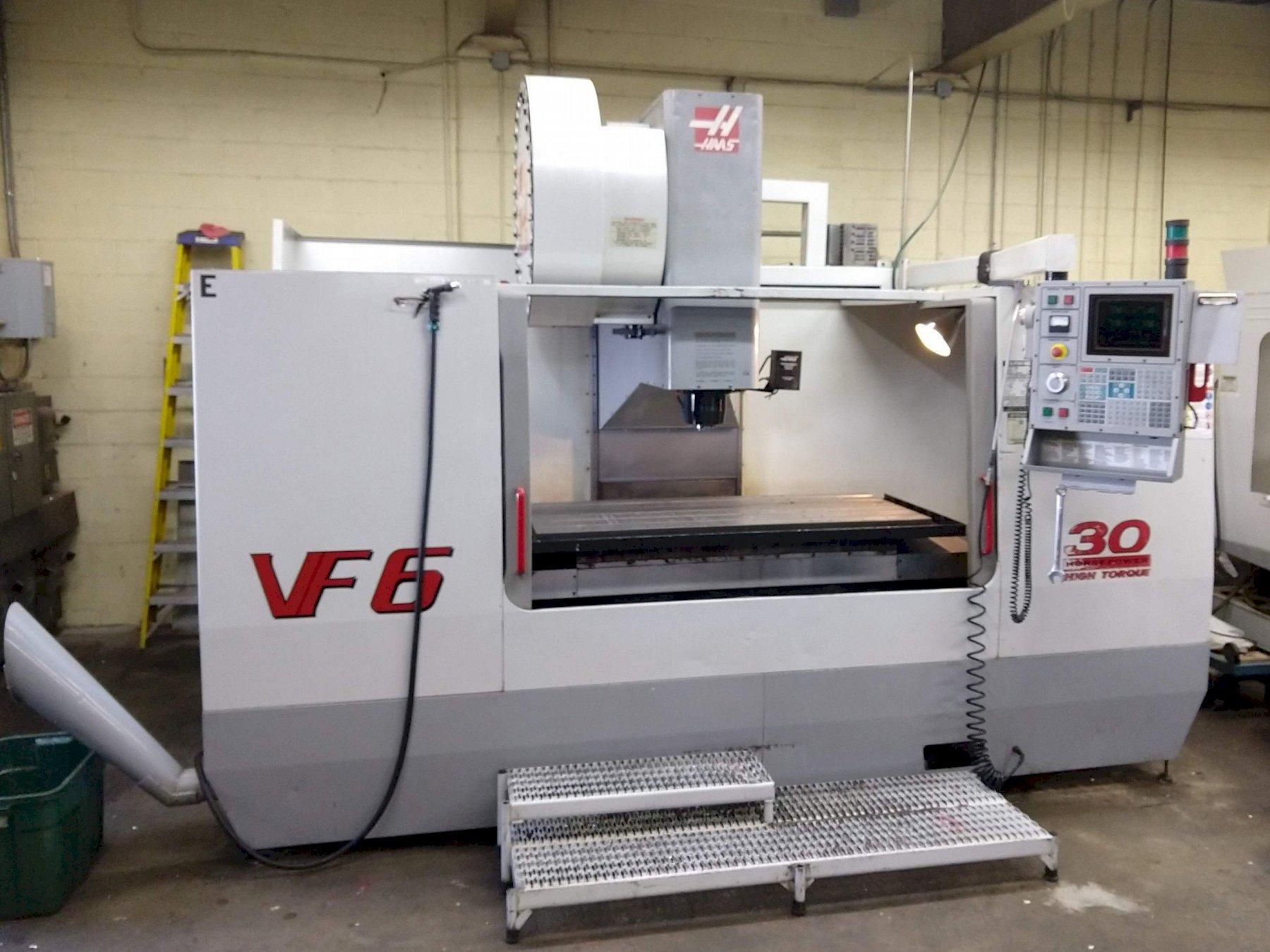 Haas VF6B/50 3-Axis Vertical Machining Center