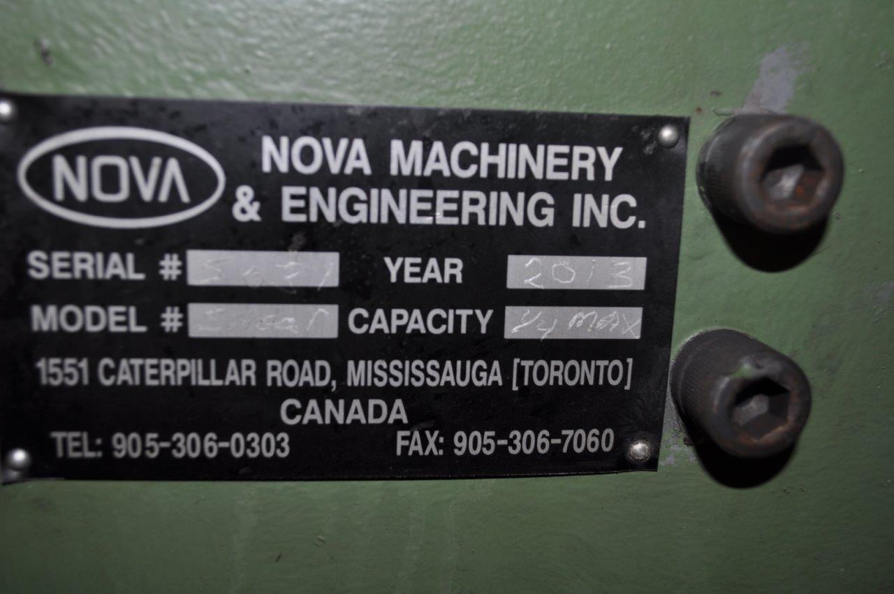 """10"""" x .250"""" Nova Hydraulic Bar Shear"""