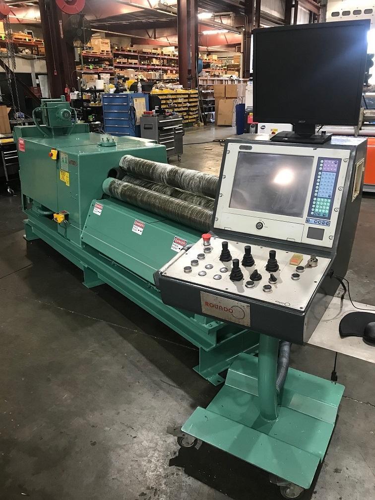 "1/4"" X 5 ft Roundo CNC Plate Bending Roll Model PASS 150/5"