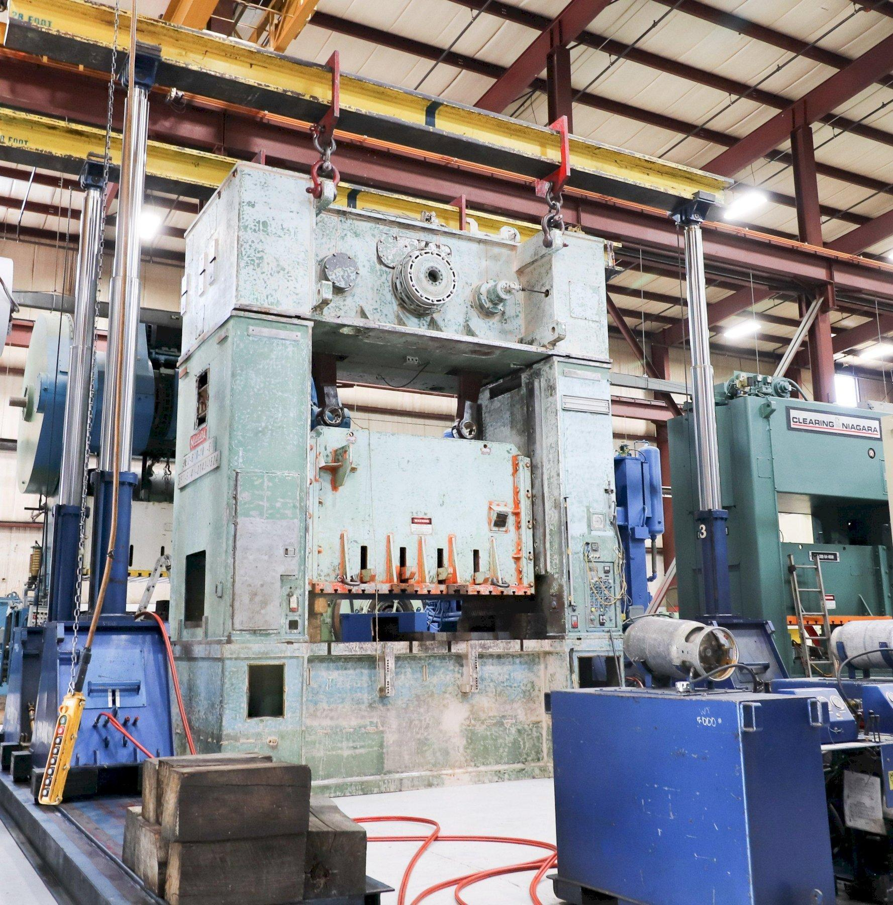 600 Ton NIAGARA SE2-600-108-60, Straight Side Press, REBUILT!