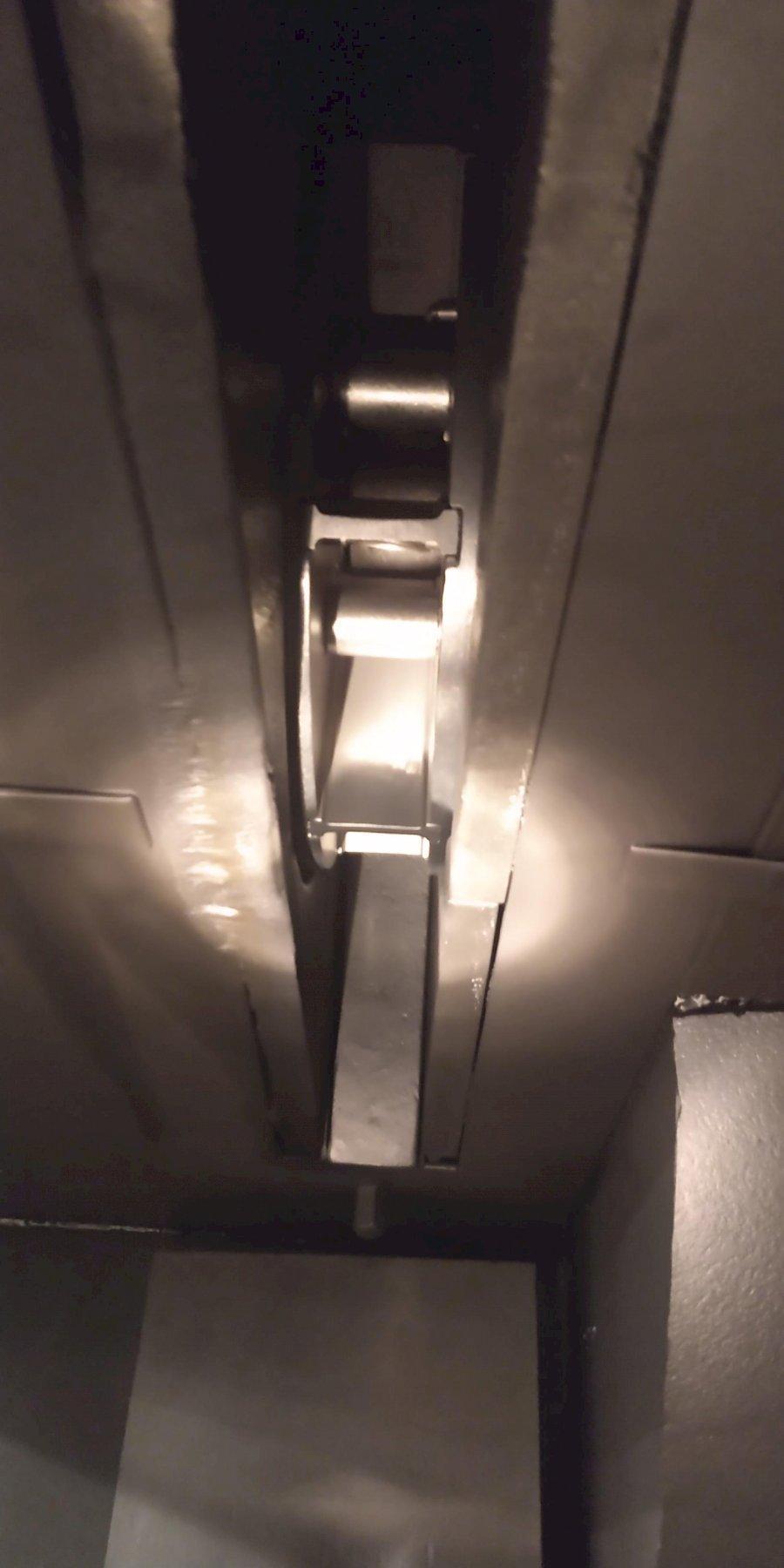 "96"" WHEELABRATOR SWING TABLE TYPE SHOTBLAST MACHINE. STOCK # 1161320"