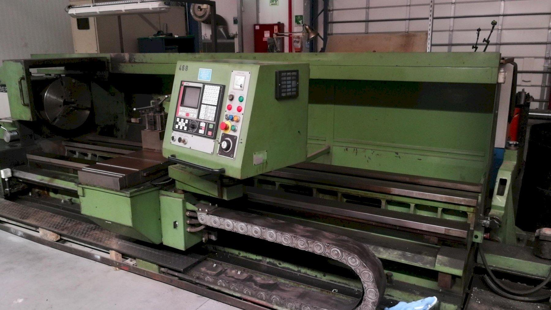 BINNS & BERRY CNC DOUBLE GAP BED LATHE, MODEL TRIDENT 800 PRESENTED BY: OCI MACHINERY – 972 (0)53-708-9265 www.oldcityltd.com