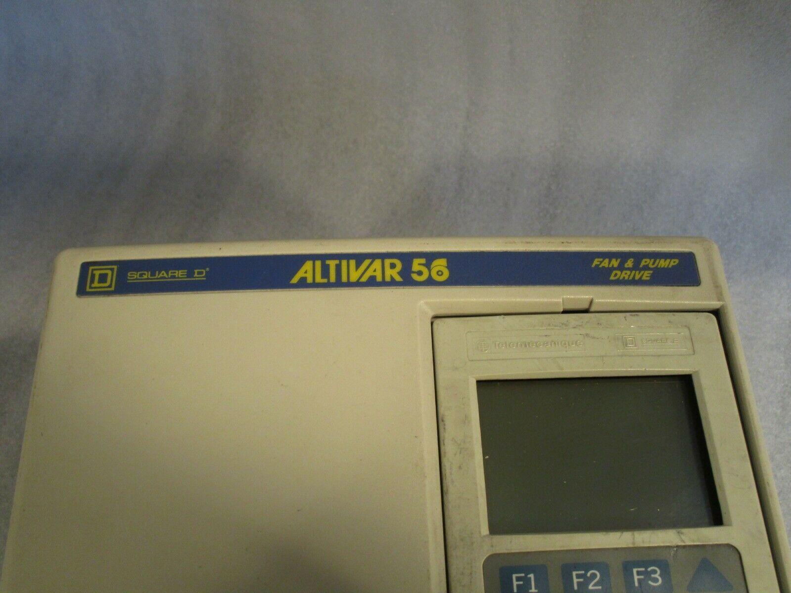 Square D Altivar 56 Drive ATV56U41N4 - For Parts