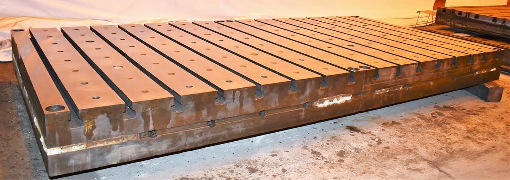 (6) 8' x 8' T-Slotted Floor PLates