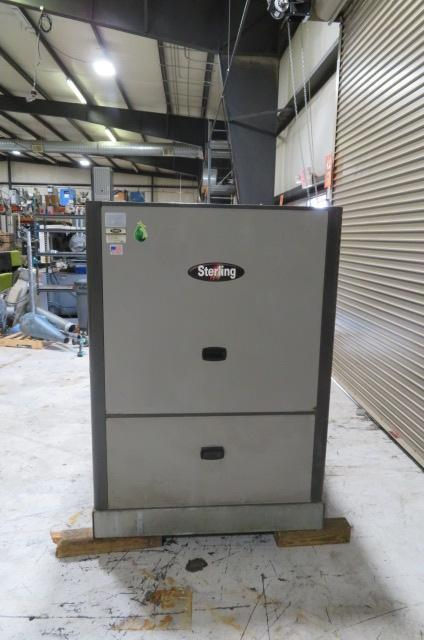 Sterling Used GPWC-140 Water Cooled Portable Chiller, 40 ton, 460V