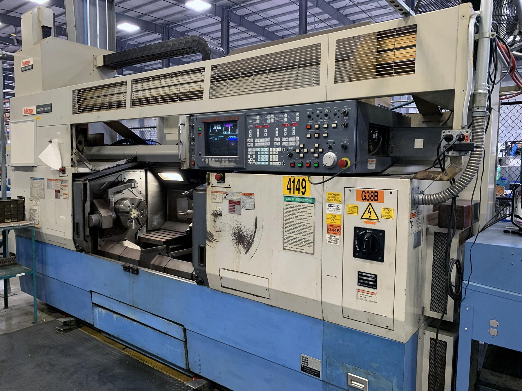 USED, MAZAK MULTIPLEX 630 CNC TURNING AND MILLING CENTER