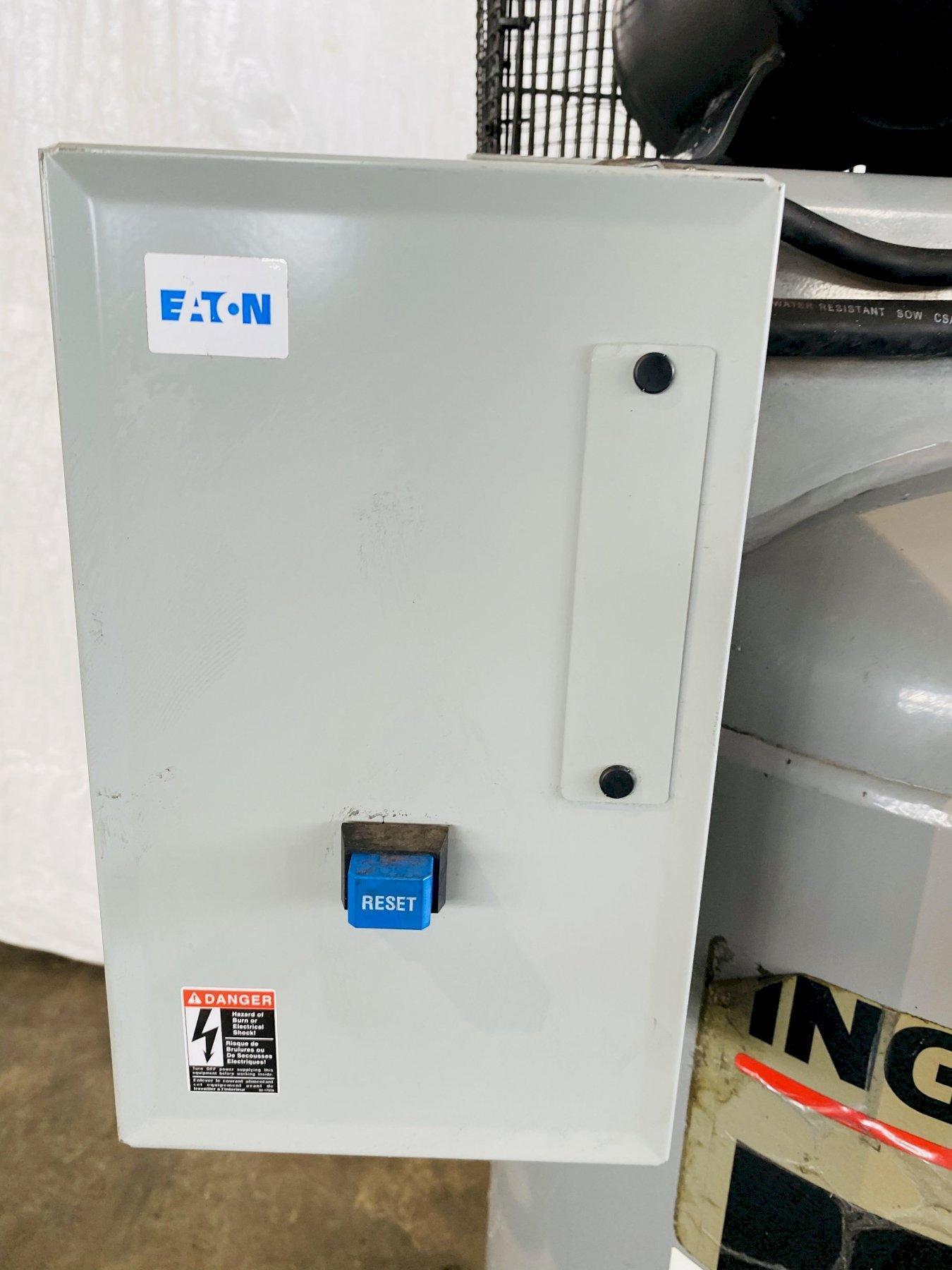 7-1/2 HP INGERSOLL-RAND 30T VERTICAL PISTON TYPE AIR COMPRESSOR. STOCK # 0631421