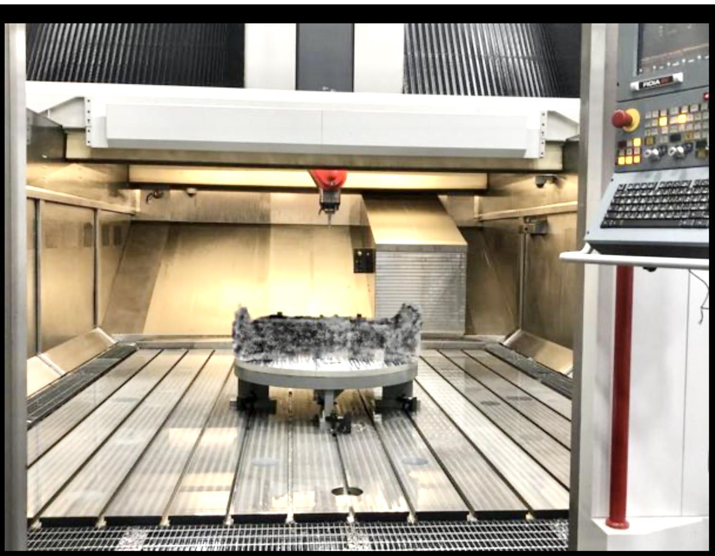 2016 5 axis Fidia high speed gantry