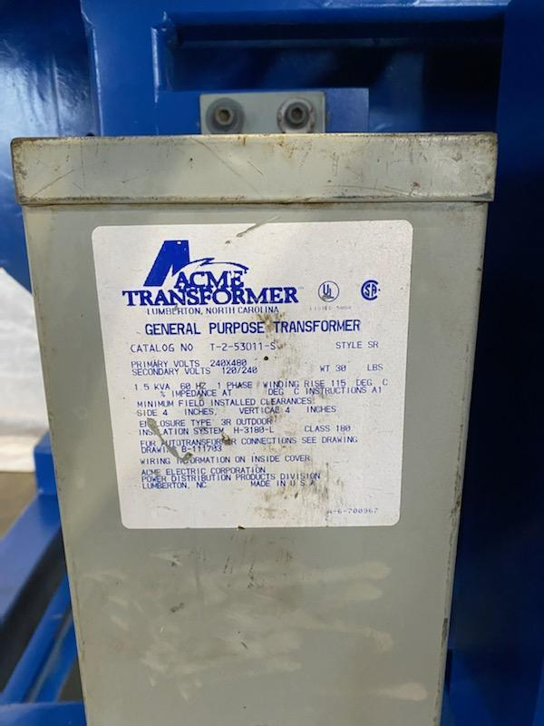 "2500 lb Sciaky 40"" Welding Positioner"