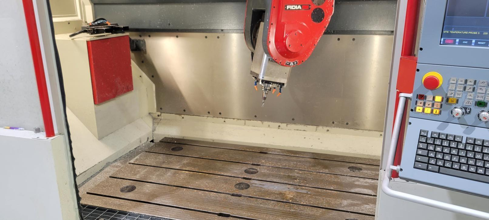 FIDIA K199 5-AXIS CNC VERTICAL MACHINING CENTER. STOCK # 0207021