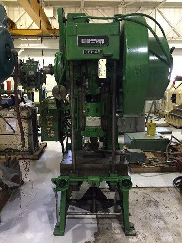 45 Ton SB Johnson, 45-FW-AC,  C-Frame Press