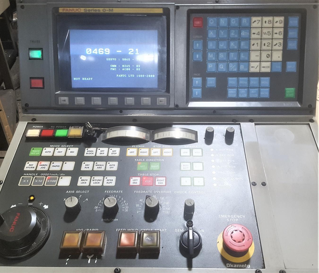 "12"" x 24"" OKAMOTO MODEL ACC GRIND-X 12.24 DXNC CNC SURFACE GRINDER"