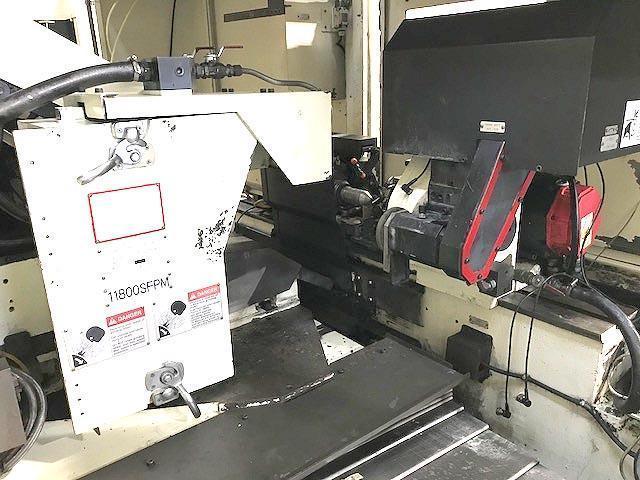 "12"" x 20"" MITSUBISHI, Model PD32, Fanuc 21i CNC Control, 12"" Swing, 20"" Between Centers, Marposs Gauging, New 2005."