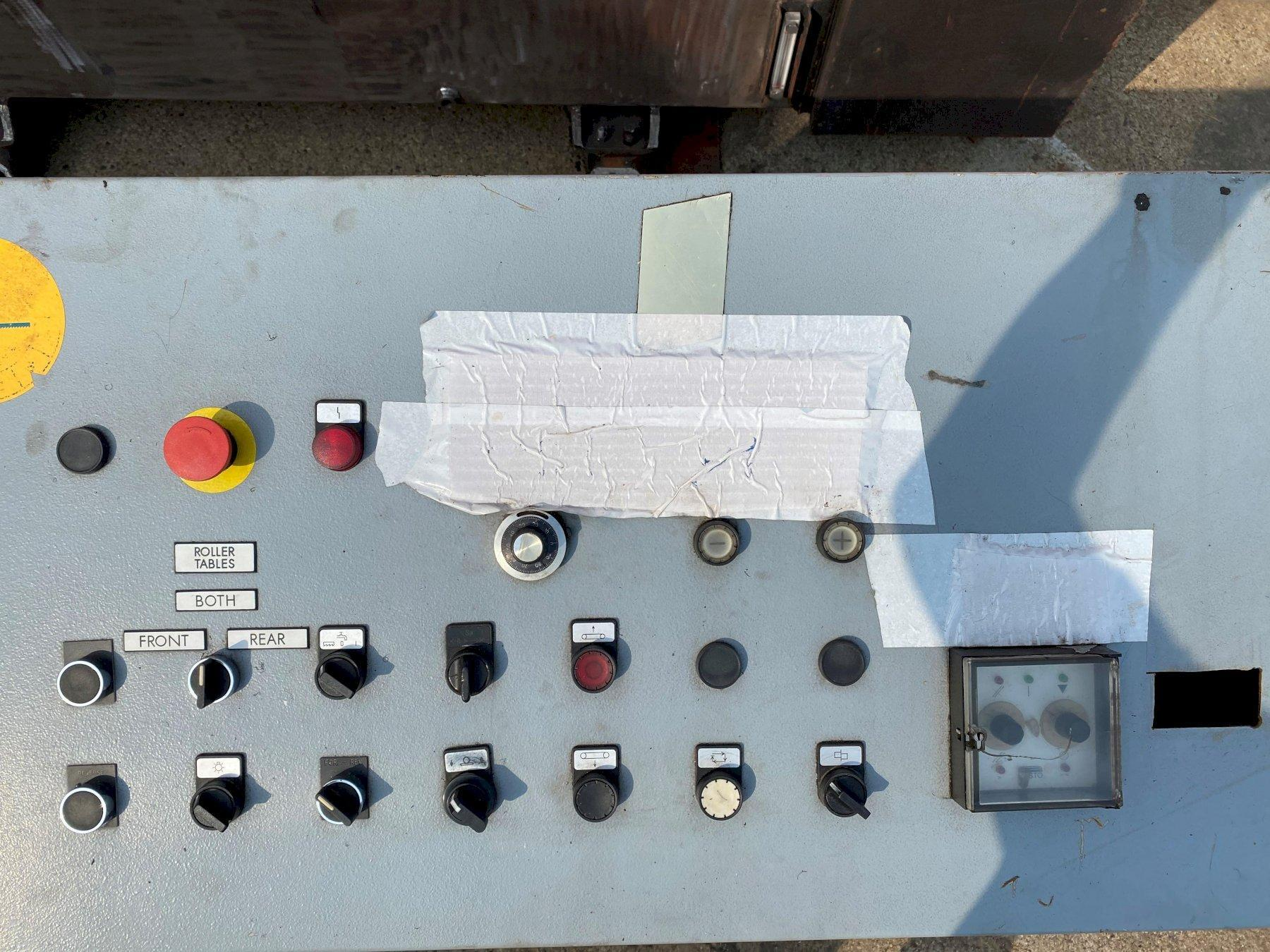 "USED KASTO 65"" X 41"" SEMI-AUTOMATIC DUAL COLUMN HORIZONTAL BANDSAW MODEL PBA 1060/1660 U, Stock #10786, Year 1996"