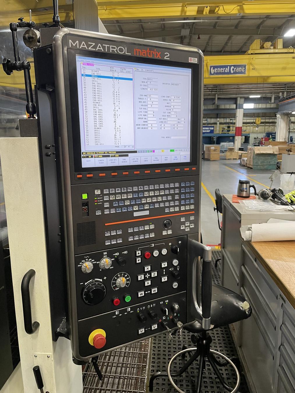 USED, MAZAK INTEGREX e-670H II 5 AXIS CNC MULTI-TASKING TURNING CENTER