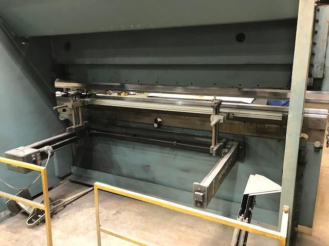 1999 Piranha Allsteel 135-10, 10' x 135 Ton Hydraulic CNC Press Brake