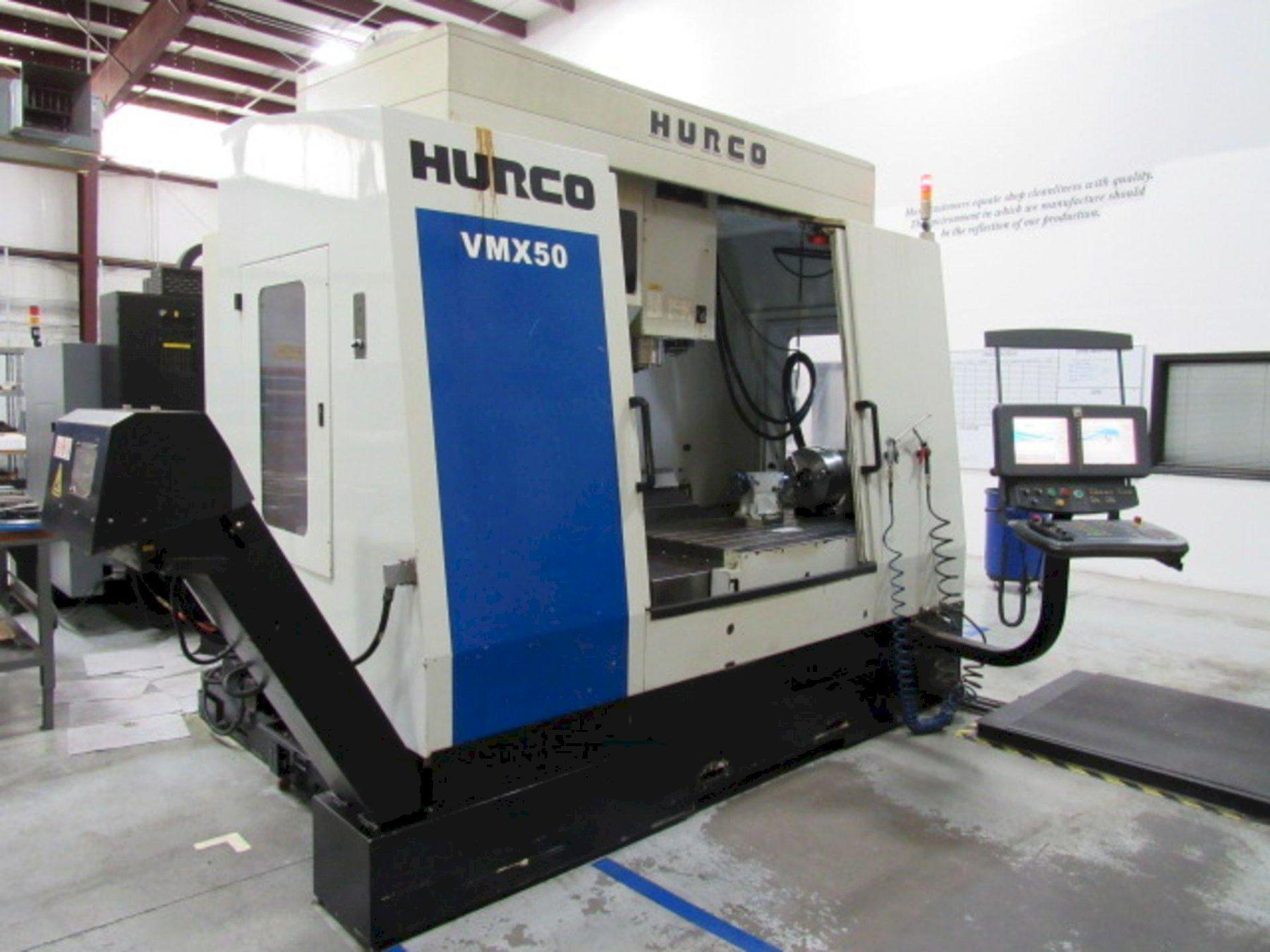Hurco VMX50/50 CNC Vertical Machining Center, WinMax Control, 50