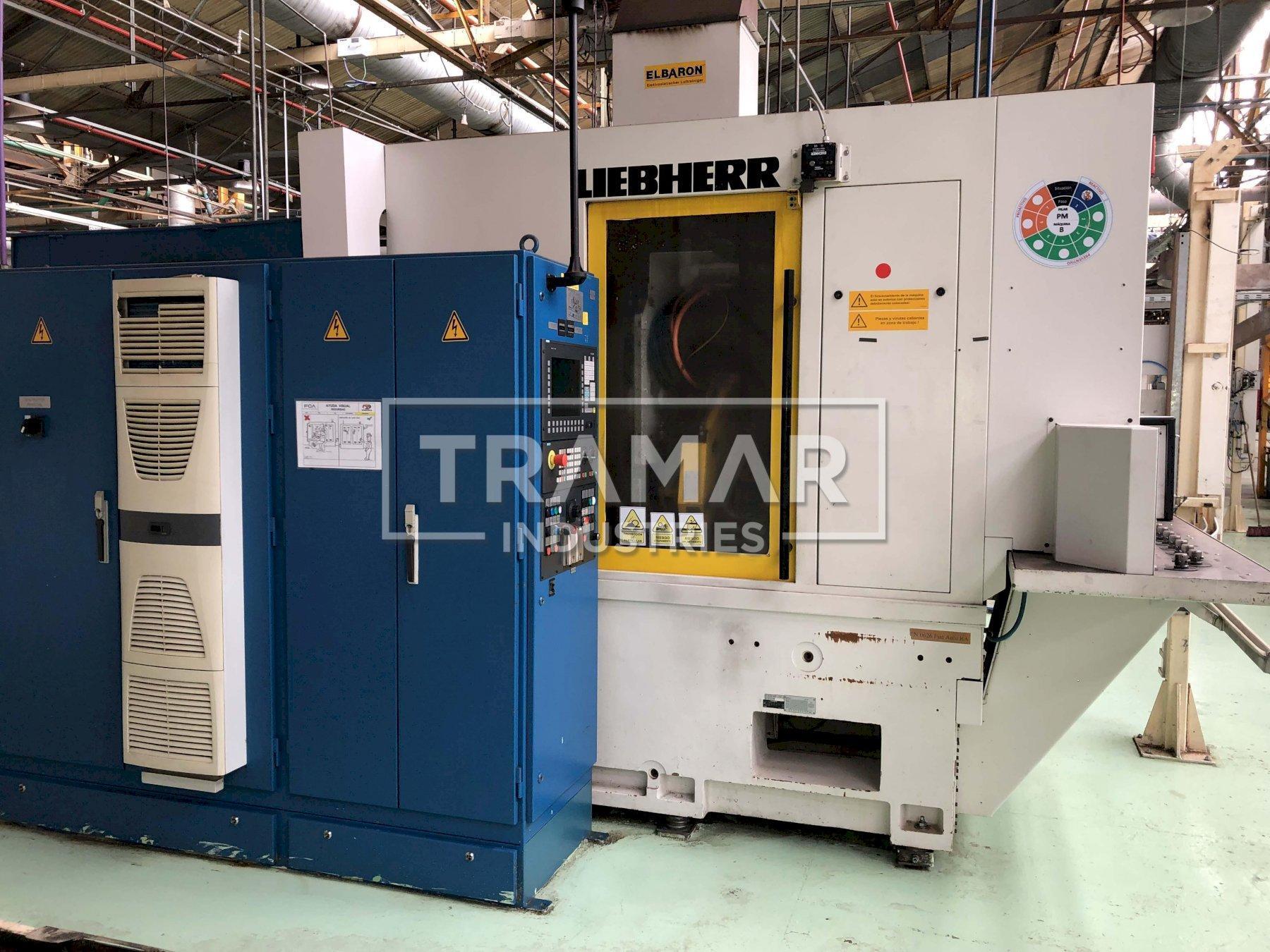 Liebherr LC 82 CNC Gear Hobber